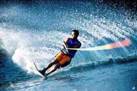 Water Skiing in Mazatlan